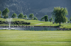 THEMENBILD - der 18-Loch-Championshipplatz bietet eine überdachter Drivingrange für PROS und Anfänger. Die Sportsresidenz Zillertal bildet das Herz der Anlage und ist gleichzeitig das beliebte Clubhaus des Golfplatzes, aufgenommen am 06. Juni 2019 in Uderns Oesterreich // the 18-hole championship course offers a covered driving range for PROS and beginners. The Sportsresidenz Zillertal forms the heart of the course and is also the popular clubhouse of the golf course, in Uderns, Austria on 2019/06/06. EXPA Pictures © 2019, PhotoCredit: EXPA/Stefanie Oberhauser