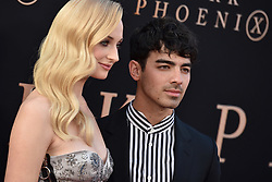 """Sophie Turner and Joe Jonas attend the Premiere Of 20th Century Fox's """"Dark Phoenix"""" at TCL Chinese Theatre on June 04, 2019 in Los Angeles, CA, USA. Photo by Lionel Hahn/ABACAPRESS.COM"""