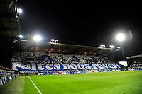 Tifos / Supporters Auxerre   - 07.04.2015 -  Auxerre / Guingamp - 1/2Finale de Coupe de France<br />Photo : Dave Winter / Icon Sport