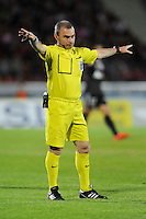 Lionel JAFFREDO - 09.05.2015 -  Evian Thonon / Reims  - 36eme journee de Ligue 1<br />