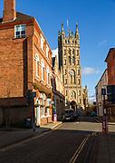 Historic Collegiate church of Saint Mary, Warwick, Warwickshire, England, UK