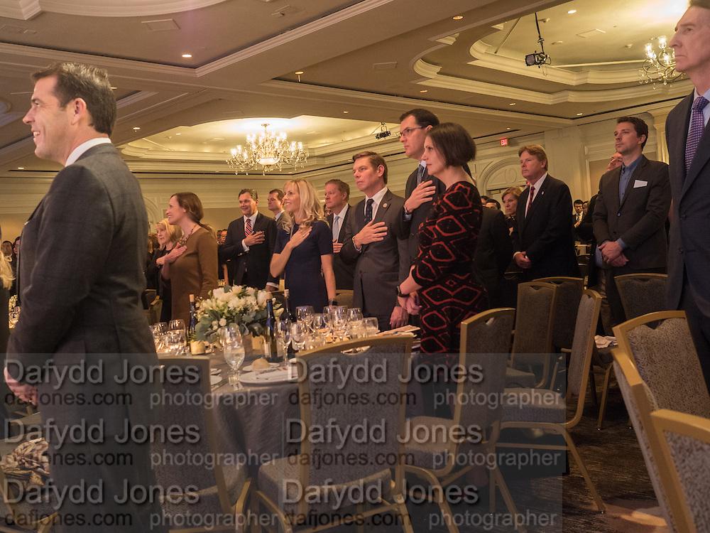 California State Society Inaugural luncheon. Ritz-Carlton, Washington. DC . 19 January 2017