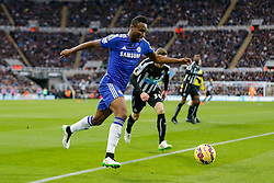 Mikel John Obi of Chelsea in action - Photo mandatory by-line: Rogan Thomson/JMP - 07966 386802 -06/12/2014 - SPORT - FOOTBALL - Newcastle, England - St James' Park - Newcastle United v Chelsea - Barclays Premier League.