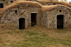 """Pietragalla, Basilicata, Italy - The """"Palmenti"""", traditional rural constructions in which is preserved the wine."""