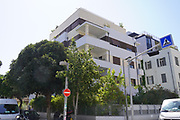 Risha Rosen House 40 Balfour street, Tel Aviv an International Style residential building designed by architect Pinhas Bizonsky in 1931. From 1936 - 1939 the main signaling station of the Hganah operated on on the roof of this building