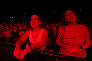 Fans watch as Phillip Phillips performs Aug. 6, 2021, during Musikfest in Bethlehem, Pennsylvania.