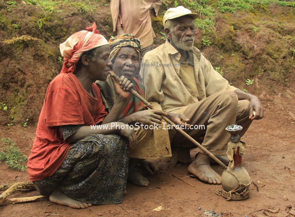 Africa, Ethiopia, Omo Valley Welayta people