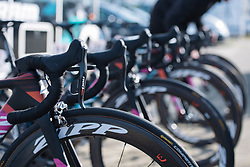 CANYON//SRAM Racing lined up and ready to race - 2016 Omloop van het Hageland - Tielt-Winge, a 129km road race starting and finishing in Tielt-Winge, on February 28, 2016 in Vlaams-Brabant, Belgium.