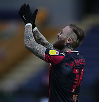 Bolton Wanderers Marcus Maddison<br /> <br /> Photographer Mick Walker/CameraSport<br /> <br /> The EFL League 2 - Mansfield Town v Bolton Wanderers  - Wednesday 17th February  2021 - One Call Stadium-Mansfield<br /> <br /> World Copyright © 2020 CameraSport. All rights reserved. 43 Linden Ave. Countesthorpe. Leicester. England. LE8 5PG - Tel: +44 (0) 116 277 4147 - admin@camerasport.com - www.camerasport.com