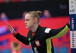 KOLDING, DENMARK - DECEMBER 5: Adrianna Placzek during the EHF Euro 2020 Group D match between Poland and Romania in Sydbank Arena, Kolding, Denmark on December 5, 2020. Photo Credit: Allan Jensen/EVENTMEDIA.