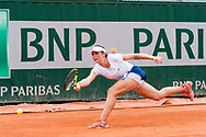 Manon Leonard (fra) during the Roland Garros French Tennis Open 2018, day 8, on June 3, 2018, at the Roland Garros Stadium in Paris, France - Photo Pierre Charlier / ProSportsImages / DPPI