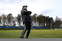 Fotball , 22. october 2016 , Eliteserien , PostNord-ligaen avd 3 , Vidar - Stord<br /> Gaute Johannessen, trener fra Vidar mot Stord<br /> Foto: Andrew Halseid Budd , Digitalsport