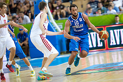 04.09.2013, Arena Bonifka, Koper, SLO, Eurobasket EM 2013, Russland vs Italien, im Bild Marco Belinelli #10 of Italy // during Eurobasket EM 2013 match between Russia and Italy at Arena Bonifka in Koper, Slowenia on 2013/09/04. EXPA Pictures © 2013, PhotoCredit: EXPA/ Sportida/ Matic Klansek Velej<br /> <br /> ***** ATTENTION - OUT OF SLO *****