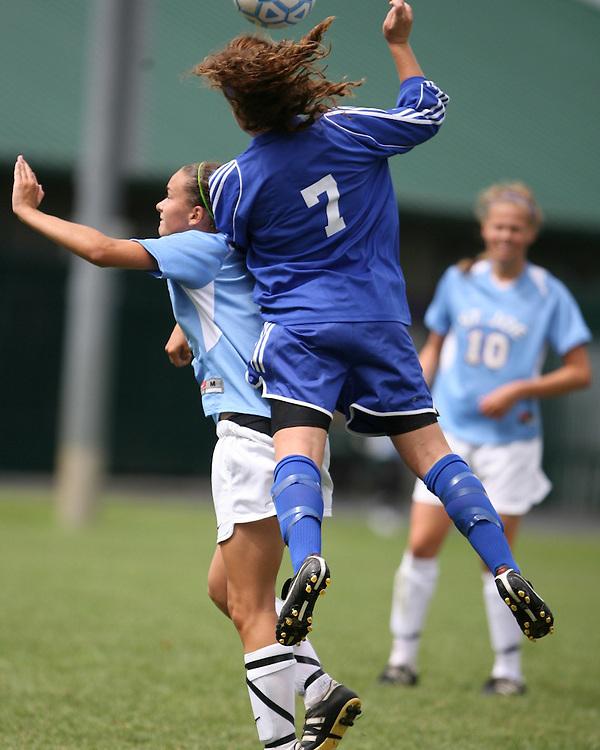 2009 Saint Joseph's High School Soccer Indian Invitational.St. Joe vs. Carmel