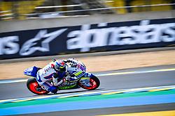 May 18, 2018 - Le Mans, France - 21 FEDERICO FULIGNI (ITA) TASCA RACING SCUDERIA MOTO2 (ITA) KALEX MOTO2 (Credit Image: © Panoramic via ZUMA Press)