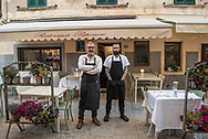 Owners of Osteria Pepe Nero