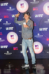 Jerone Jarre. Red carpets arrivals at the MTV EMA's 2014 at The Hydro on November 9, 2014 in Glasgow, Scotland.