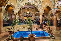 Iran, province de Kerman, Kerman, Maison de thé du hammam Vakil// Iran, Kerman province, Kerman, Vakil hammam teahouse