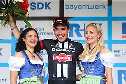 Radsport: 36. Bayern Rundfahrt 2015 / 5. Etappe, Hassfurt - Nuernberg, 17.05.2015<br /> Cycling: 36th Tour of Bavaria 2015 / Stage 5, <br /> Hassfurt - Nuernberg, 17.05.2015<br /> Siegerehrung - podium, # 51 Degenkolb, John (GER, TEAM GIANT - ALPECIN)
