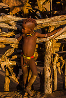Young Hamer tribe girls, Omo Valley, Ethiopia.