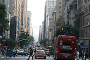 USA, NY, New york city, Manhattan street scene