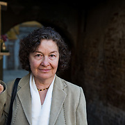 Catalan writer Maria Barbal poses in Venice ahead of his talk for the Incontri di Civilta event in Venice...© Marco Secchi/ www.marcosecchi.com.msecchi@gmail.com.NUJ recommended terms & conditions apply. Moral rights asserted under Copyright Designs & Patents Act 1988. .Credit is required. .No part of this photo to be stored, reproduced, manipulated or transmitted by any means without permission...COPYRIGHT NOTICE.© Marco Secchi/www.marcosecchi.com..CREDIT.© Marco Secchi ----------------------<br /> Marco Secchi/XianPix<br /> email msecchi@gmail.com<br /> http://www.marcosecchi.com