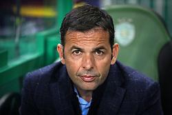 February 14, 2019 - Lisbon, Portugal - Javier Calleja of Villarreal coach seen during the Europa League 2018/2019 footballl match between Sporting CP vs Villarreal FC. (Credit Image: © David Martins/SOPA Images via ZUMA Wire)