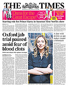 April 07, 2021 (UK): Front-page: Today's Newspapers In United Kingdom