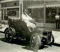 1927 G.G. Greenwood's old Cadillac entry in the Old Settlers' Day Parade