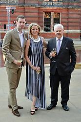 Joe Phelan, Diana Quasha and Norman Lamont at the V&A Summer Party 2017 held at the Victoria & Albert Museum, London England. 21 June 2017.