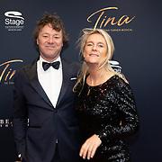 NLD/Utrecht/20200209 - Start inloop Tina Turner musical, Frits Sissing en partner Willemijn
