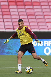 October 8, 2017 - Lisbon, Lisbon, Portugal - Portugals goalkeeper Anthony Lopes in action during National Team Training session before the match between Portugal and Switzerland at Luz Stadium in Lisbon on October 8, 2017. (Credit Image: © Dpi/NurPhoto via ZUMA Press)