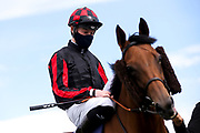 Ghepardo ridden by Daniel Muscutt and trained by Patrick Chamings - Mandatory by-line: Robbie Stephenson/JMP - 18/07/2020 - HORSE RACING- Bath Racecourse - Bath, England - Bath Races 18/07/20
