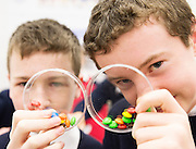 27/11/2016 REPRO FREE:  <br /> Cormac Delaney and Mathew Carthy   New Inn, in NUI Galway for the exhibition and fun day of the Galway Science & Technology Festival. <br /> Photo: Andrew Downes, Xposure.