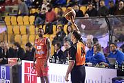 DESCRIZIONE : Roma Lega serie A 2013/14 Acea Virtus Roma Grissin Bon Reggio Emilia<br /> GIOCATORE : arbitro<br /> CATEGORIA : fallo mani<br /> SQUADRA : Acea Virtus Roma<br /> EVENTO : Campionato Lega Serie A 2013-2014<br /> GARA : Acea Virtus Roma Grissin Bon Reggio Emilia<br /> DATA : 22/12/2013<br /> SPORT : Pallacanestro<br /> AUTORE : Agenzia Ciamillo-Castoria/ManoloGreco<br /> Galleria : Lega Seria A 2013-2014<br /> Fotonotizia : Roma Lega serie A 2013/14 Acea Virtus Roma Grissin Bon Reggio Emilia<br /> Predefinita :