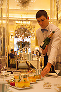 Afternoon tea at Claridge's in London CREDIT: Vanessa Berberian for The Wall Street Journal