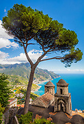 Villa Rufolo is a building within the historic center of Ravello, a town in the province of Salerno, Italy, and which overlooks the front of the cathedral square. The initial layout dates from the thirteenth century, with extensive remodeling in the nineteenth century.