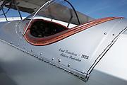 Pilots' names on Boeing 40.
