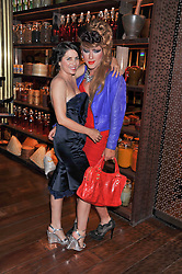 Left to right, SADIE FROST and JODIE HARSH at a dinner to celebrate the beginning of a unique partnership between The Naked Heart Foundation and W's Newest Hotel W St.Petersburg -The 'For Russia With Love' dinner was hosted by Sadie Frost and Natalia Vodianova at Spice Market restaurant, W London, Leicester Square, London on 2nd June 2011.