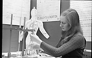 Young scientist at RDS.08/01/1971