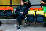 Forest Green Rovers Manager, Mark Cooper  during the EFL Sky Bet League 2 match between Port Vale and Forest Green Rovers at Vale Park, Burslem, England on 20 August 2019.