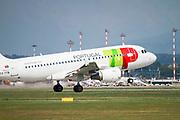 TAP Portugal, Airbus A319-111 (CS-TTB) at Malpensa (MXP / LIMC), Milan, Italy