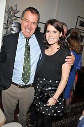 PRINCESS EUGENIE OF YORK and IAN CRAIG at the Lewa Wildlife Conservancy debate held at Patrick Mavros, 104-106 Fulham Road, London on 21st November 2012.