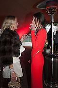CAROLINE FLEMING; JULIA BRANJSTRUP, Gabrielle's Gala 2013 in aid of  Gabrielle's Angels Foundation UK , Battersea Power station. London. 2 May 2013.
