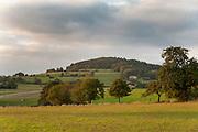 Katzenbuckel, höchster Punkt des Odenwaldes (626m), Walldürn, Odenwald, Naturpark Bergstraße-Odenwald, Baden-Württemberg, Deutschland | Katzenbuckel, highest hill in Odenwald, Baden-Wuerttemberg, Germany