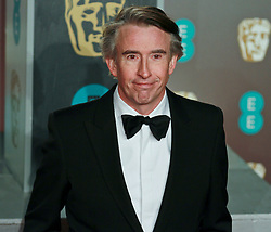 Steve Coogan on the red carpet ahead of the 2019 British Academy Film Awards at the Royal Albert Hall in London, England on 10th Feburary 2019. ©Ben Booth/Edinburgh Elite media