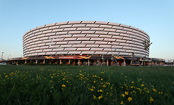 File photo dated 29-05-2019 of a general view of the Olympic Stadium in Baku. Issue date: Tuesday June 1, 2021.