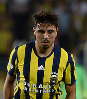 UEFA Champions League Third qualifying round first leg match between Fenerbahce Istanbul and Monaco on July 27, 2016 at the Ulker Stadium in Istanbul,Turkey.<br /> Final Score : Fenerbahce 2 - Monaco 1<br /> Pictured: Ozan Tufan of Fenerbahce .