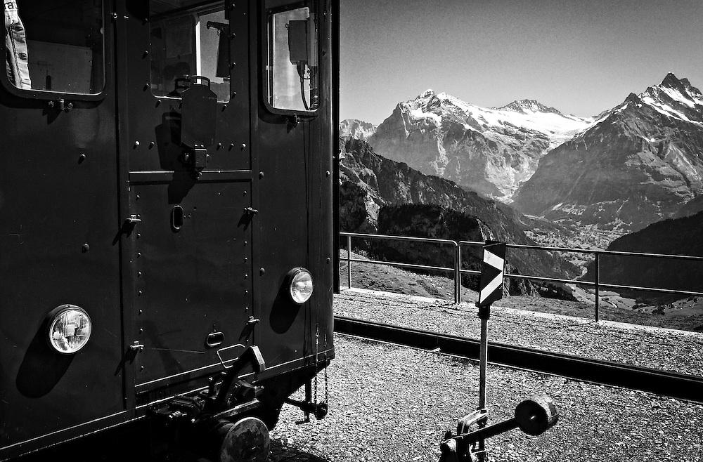 Switzerland - Schynige Platte railway station