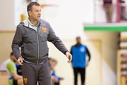 Ivica Obrvan, head coach of F.R.Y. Macedonia during friendly handball match between National Teams of Slovenia and F.Y.R. of Macedonia before EHF EURO 2016 in Poland on January 4, 2015 in Sports hall Krsko, Krsko, Slovenia. Photo by Urban Urbanc / Sportida